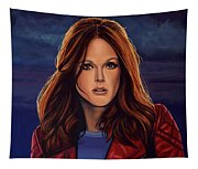 Julianne Moore Tapestry