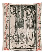 Juliet From Romeo And Juliet Tapestry