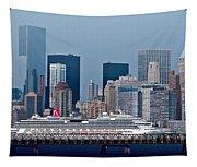 July 7 2014 - Carnival Splendor At New York City - Image 1674-01 Tapestry