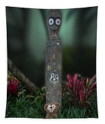 Jungle Bear 2 Tapestry