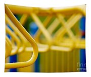 Jungle Gym At Playground Shallow Dof Tapestry