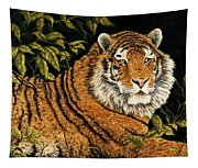Jungle Monarch Tapestry