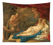Jupiter And Antiope Tapestry