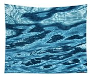 Just Blue  Tapestry