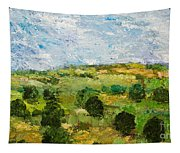 Just Roll Along Tapestry