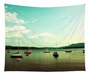 Just Sail Boats Tapestry