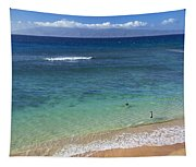 Kaanapali Ocean Aerial Tapestry