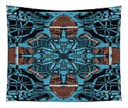 Kaleidoscope Flower 2 Tapestry