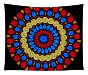 Kaleidoscope Of Colorful Embroidery Tapestry