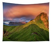 Kalsoy Island And Kallur Lighthouse Tapestry