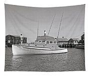 Kandy Of Barnstable Harbor 1950's Tapestry