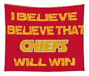 Kansas City Chiefs I Believe Tapestry
