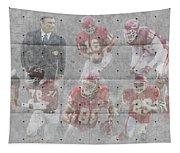 Kansas City Chiefs Legends Tapestry