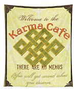Karma Cafe Tapestry