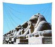 Karnak Temple Statue 14 Tapestry