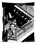 Katie-fire Escape Tapestry