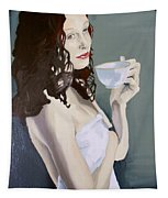 Katie - Morning Cup Of Tea Tapestry