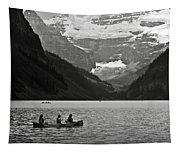 Kayak On Lake Louise Tapestry
