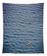 Kayaking Alone Tapestry