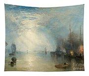 Keelmen Heaving In Coals By Moonlight Tapestry