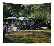 Keep Park Clean Tapestry