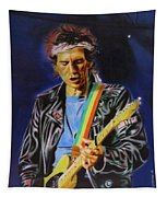 Keith Richards Of Rolling Stones Tapestry