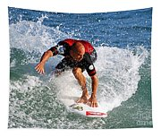 Kelly Slater World Surfing Champion Copy Tapestry