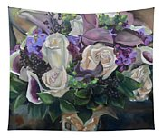 Kelly's Bridal Bouquet Tapestry