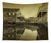 Kennebunkport Dock Square Tapestry