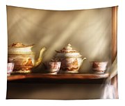Kettle - My Grandmother's Chinese Tea Set  Tapestry