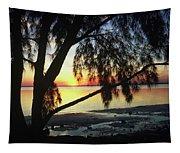 Key Biscayne Sunset Tapestry