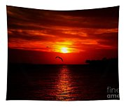 Key West Sunset Tapestry