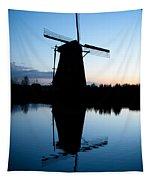 Kinderdijk Dawn Tapestry