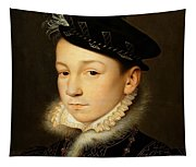 King Charles Ix Of France Tapestry