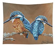 Kingfishers Tapestry