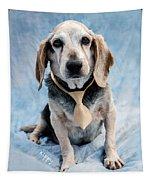 Kippy Beagle Senior And Best Dog Ever Tapestry
