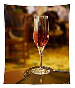 Kir Royale In A Champagne Glass Tapestry