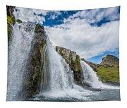 Kirkjufellsfoss Waterfalls, Church Tapestry