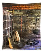 Kitchen - Colonial Pots And Pans Tapestry