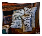 Kitchen - Food - Sugar And Salt Tapestry