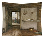 Kitchen Interior, C.1899 Tapestry