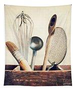 Kitchenware Tapestry by Priska Wettstein