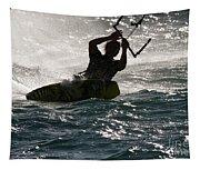 Kite Surfer 02 Tapestry