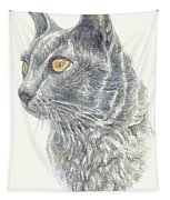 Kitty Kat Iphone Cases Smart Phones Cells And Mobile Cases Carole Spandau Cbs Art 347 Tapestry