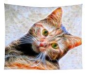 Kitty Strange Tapestry