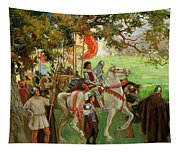 Knights Assembling, From Sir Nigel Tapestry