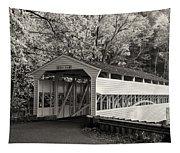 Knox Covered Bridge In Sepia Tapestry