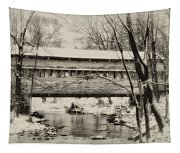 Knox Valley Forge Covered Bridge Tapestry