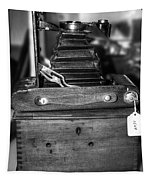 Kodak Folding Autographic Brownie 2-a Black And White Tapestry