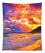 Kohala Sunset Tapestry